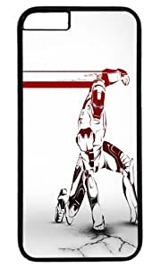 Iron man comic art Customizable iphone 6 Case by icasepersonalized