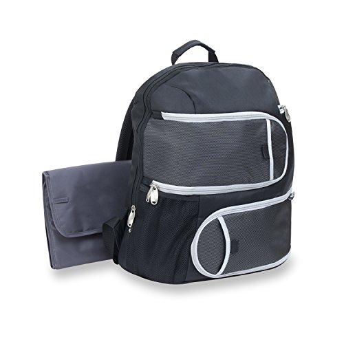 Graco Super Organizer Back Pack Diaper Bag, Black