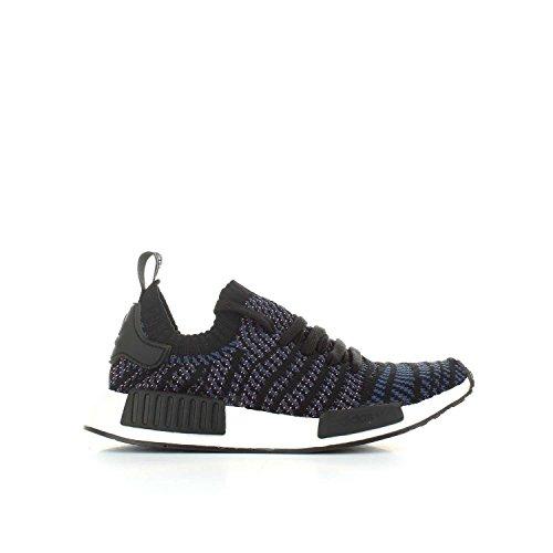 adidas NMD_r1 Stlt Primeknit, Baskets Femme, Rose Bonbon, XX noir