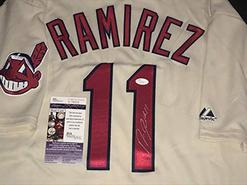 irez Jersey - WITNESS COA 1 - JSA Certified - Autographed MLB Jerseys ()