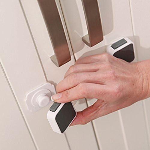 Lindam Xtra Guard Cierre doble de seguridad multiuso Protecci/ón y bloqueo