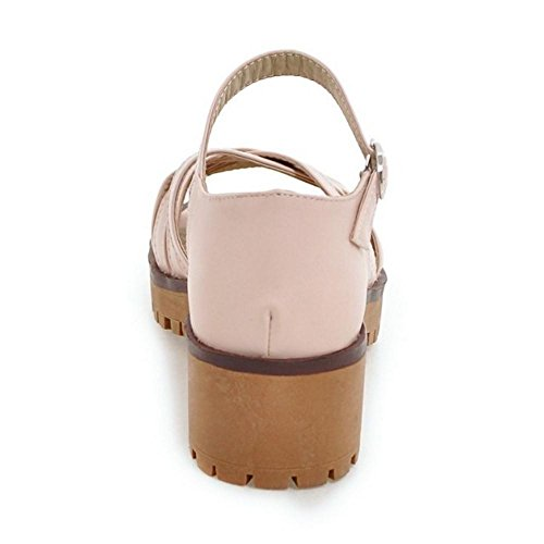 Pink Confort Creux RAZAMAZA Femmes Sandales 7qP5wIAx