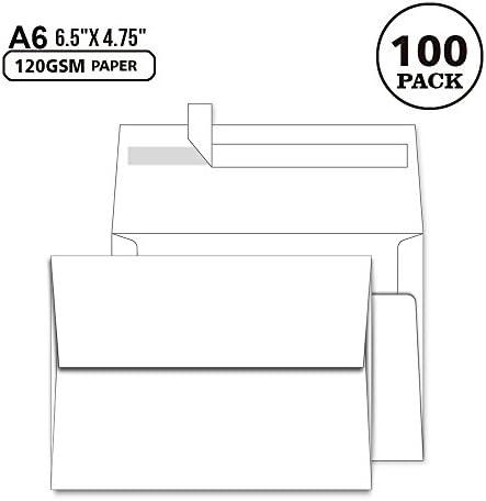 White Envelopes 4X6 100 Pack product image