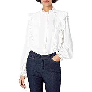 Joie womens19-5-005390-TP03499Long Sleeve Blouse Shirt