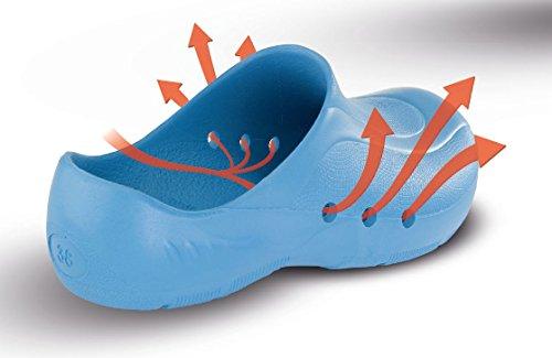 Du Schürr Bleu Avec chaussures Orthoclogs Talon Niveau Sans Unisexe Et Op Au rgFzqPg