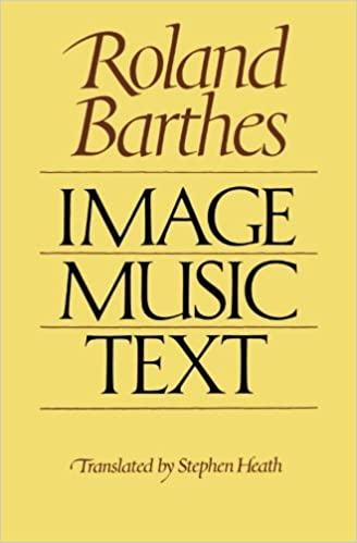 rhetoric of the image roland barthes summary