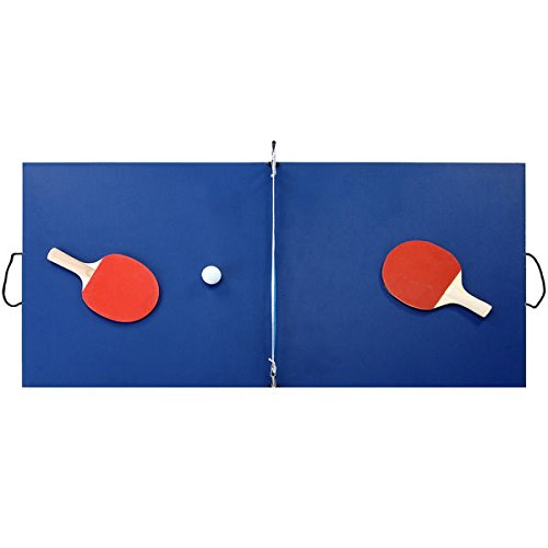 Drop Shot 42-in Portable Table Tennis Set - MDF Construction