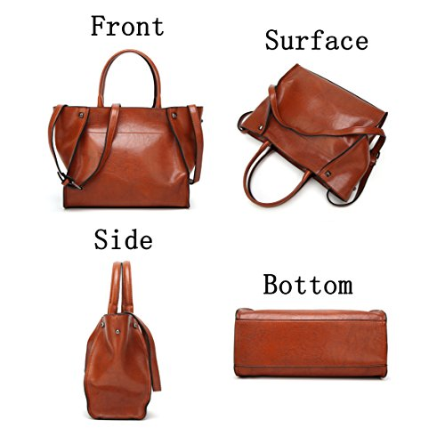 Women's Purse Bags Shoulder Messenger Top Coffee Obosoyo Handle Ladies for Tote Hobo Satchel PU Bag d81Eqxwq5