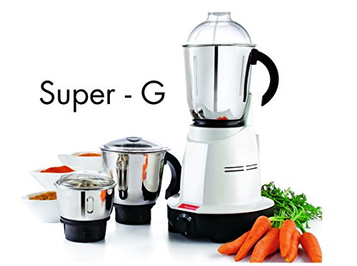 Premier Super G 3 Jar Kitchen Machine Mixer Grinder 110 Volts / Premier Mixie / Premier Mixer / Premier Blender