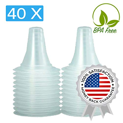 40x Ear Thermometer Probe Covers/Refill Caps/Lens Filters for All Braun ThermoScan Models and Other Types of Digital Thermometers