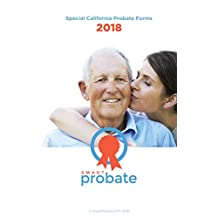 Special California Probate Forms 2018