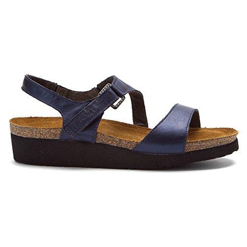 Gray Footwear Leather Naot SEA BLUE POLAR Lizard Women's Sandal Pamela xZwwdCtP