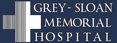 La Stickers Grau Sloan Memorial Krankenhaus Aufkleber Grafik Auto Wand Laptop Zelle Lkw Aufkleber Für Fenster Auto Lkw Küche Haushalt