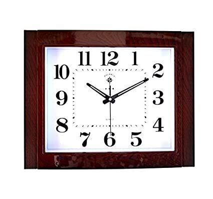 Amazon.com: FortuneVin Wall Clock Silent Movement Wall Clock ... on