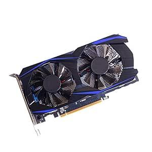 Mhomrs GPU GTX750Ti - Tarjeta gráfica de vídeo (4 GB, GDDR5, R7 ...