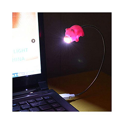 Cute LED USB Light, Adorable Pig USB Mini LED Light - Perfect for Laptops & Computers! by RED SHIELD (Image #5)