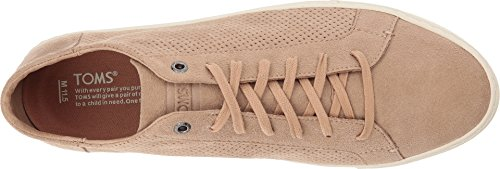 TOMS Mens Lenox Leather Ankle-High Fashion Sneaker Toffee Perforated Synthetic Suede lGbb43PZOq