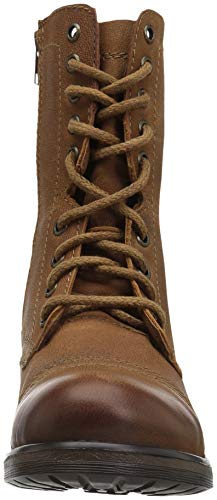 Steve Leather Combat Cognac Madden Women's Tropa2 0 Boot qUOTq