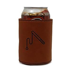 Cat Toy Leather Can Sleeve, Beer Sleeve, Beer Cooler, Beer Hugger