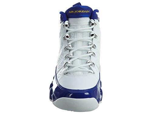 Nike 302359-121, Zapatillas de Baloncesto para Niños Blanco (White / Tour Yellow Concord)