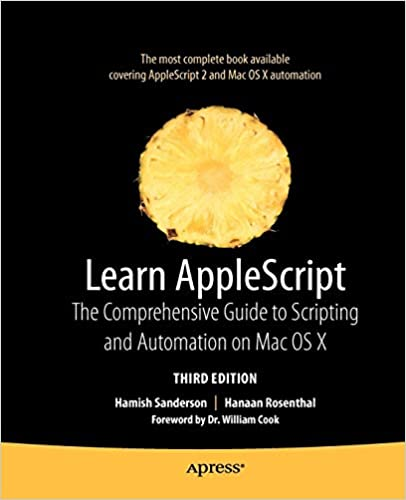 Learn AppleScript: The Comprehensive Guide to Scripting and
