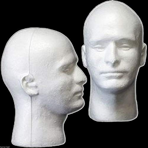 New Prop Building Supplies-MANNEQUIN HEAD-Halloween Costume Mask Wig Display-MAN]()
