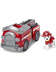 PAW Patrol, Brandweerauto met Marshall-verzamelfiguurtje, voor kinderen vanaf 3 jr.
