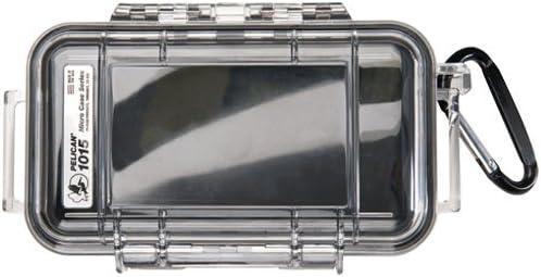 Pelican 1015-005-100 - Caja (Negro, Transparente, 130,55 x 34,79 x 67,05 mm): Amazon.es: Informática