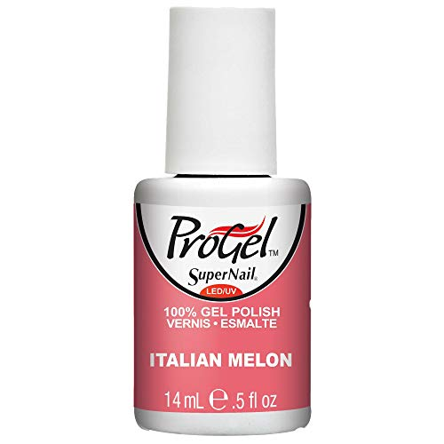 クリーム自動的に専制SuperNail ProGel Gel Polish - Italian Melon - 0.5oz / 14ml