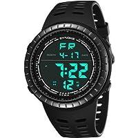 Mens Digital Sport Watch, Military Black Watches, Army...