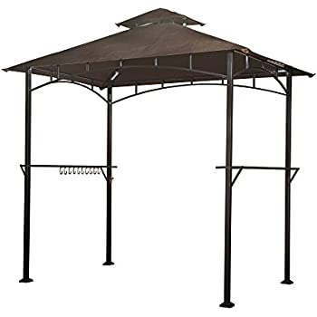 on embly home double wide gazebo design