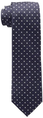 Tommy Hilfiger Men's Dot Doug Tie, Navy, One Size