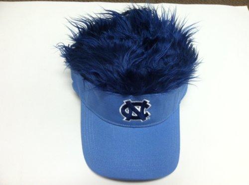 The Northwest Company NCAA North Carolina Tar Heels Flair Hair Adjustable Visor, Powder Blue