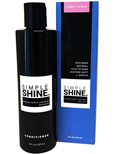 Premium Leather Conditioner | No Stain Restore, Protect & Condition Shoes, Boots, Bags & Furniture by Simple Shine