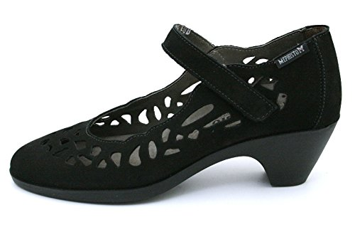 Black Mephisto Women's Mephisto Women's Court Shoes qHTOwUBwS