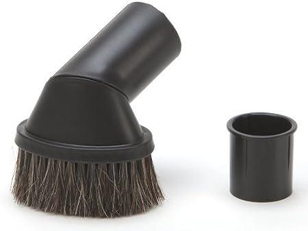 DREHFLEX - Cepillo de muebles para aspiradoras - diámetro 32-35 mm - Con cerdas de pelo natural: Amazon.es: Hogar