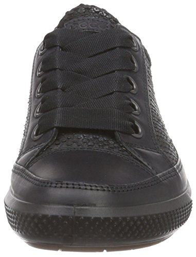 ECCO Derby Black Donna Dress Scarpe Nero 51707 black Basse Sneaker Stringate Pwr7gxpP