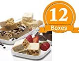 ProtiWise - Variety Pack High Protein Diet Bars (12 Boxes)