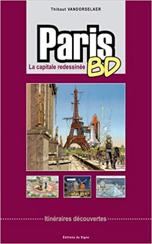 Amazon Fr Paris Bd La Capitale Redessinee Itineraires