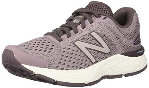 New Balance Women's 680v6 Cushioning Running Shoe, Cashmere/Light Shale, 9 W US