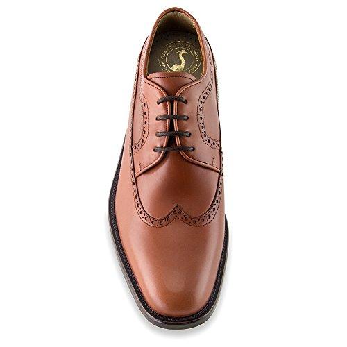 Chaussures Augmentant La Taille Pour Les Hommes. Être Plus Grand Que 7 Cm / 2,75 Pouces. Modèle Lexter Marron