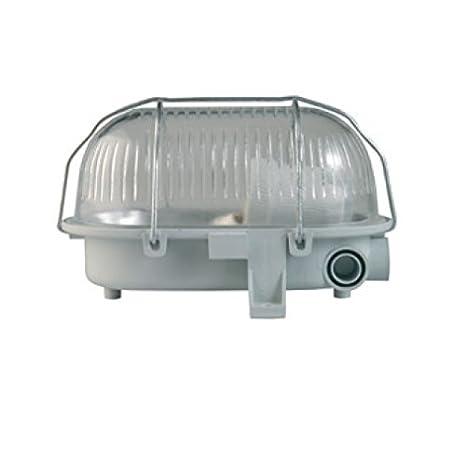 RZB Kunststoff-Ovalleuchte 50500.889.1 IP44 Standard Kunststoff-Ovalleuchte
