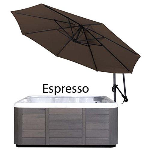 Cover Valet SSUES Spa Side Umbrella (Espresso) ()