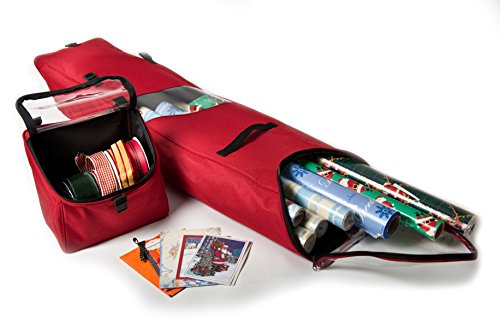 Gift Wrap Center (Santa's Bags SB-10130 Hanging Gift-Wrap Storage Bag)