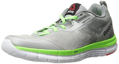 Solar Zquick Women's Shoe Tempo Green White Cherry Soul Reebok Steel Neon Grey Running Flat RFdvqgn