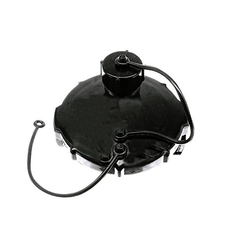 (Danco 65167 3 in. Mobile Home/RV Termination Cap with 3/4MHT Threaded Hose Connection, Black)