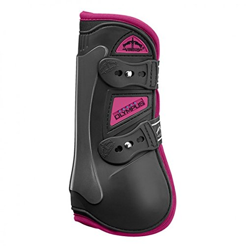 VEREDUS Olympus Colors Open FR Boots Md Blk/Pink