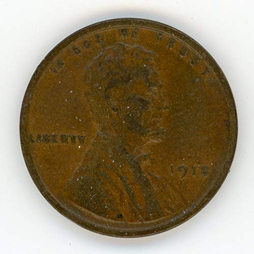 1918 Lincoln Cent XF-40