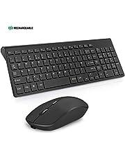 JOYACCESS Wireless Keyboard and Mouse Set (UK layout)