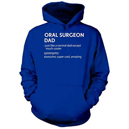 Oral Surgeon Dad Much Cooler Gift For Dad - Hoodie Royal 4XL
